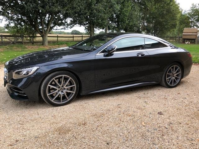 2017 Mercedes-Benz S-Class 4.7 S560 AMG Line Premium Coupe For Sale (picture 2 of 6)