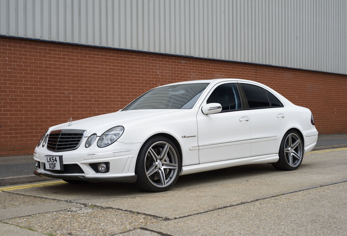 2002 Mercedes Benz E55 AMG For Sale in London (RHD) For Sale (picture 1 of 23)