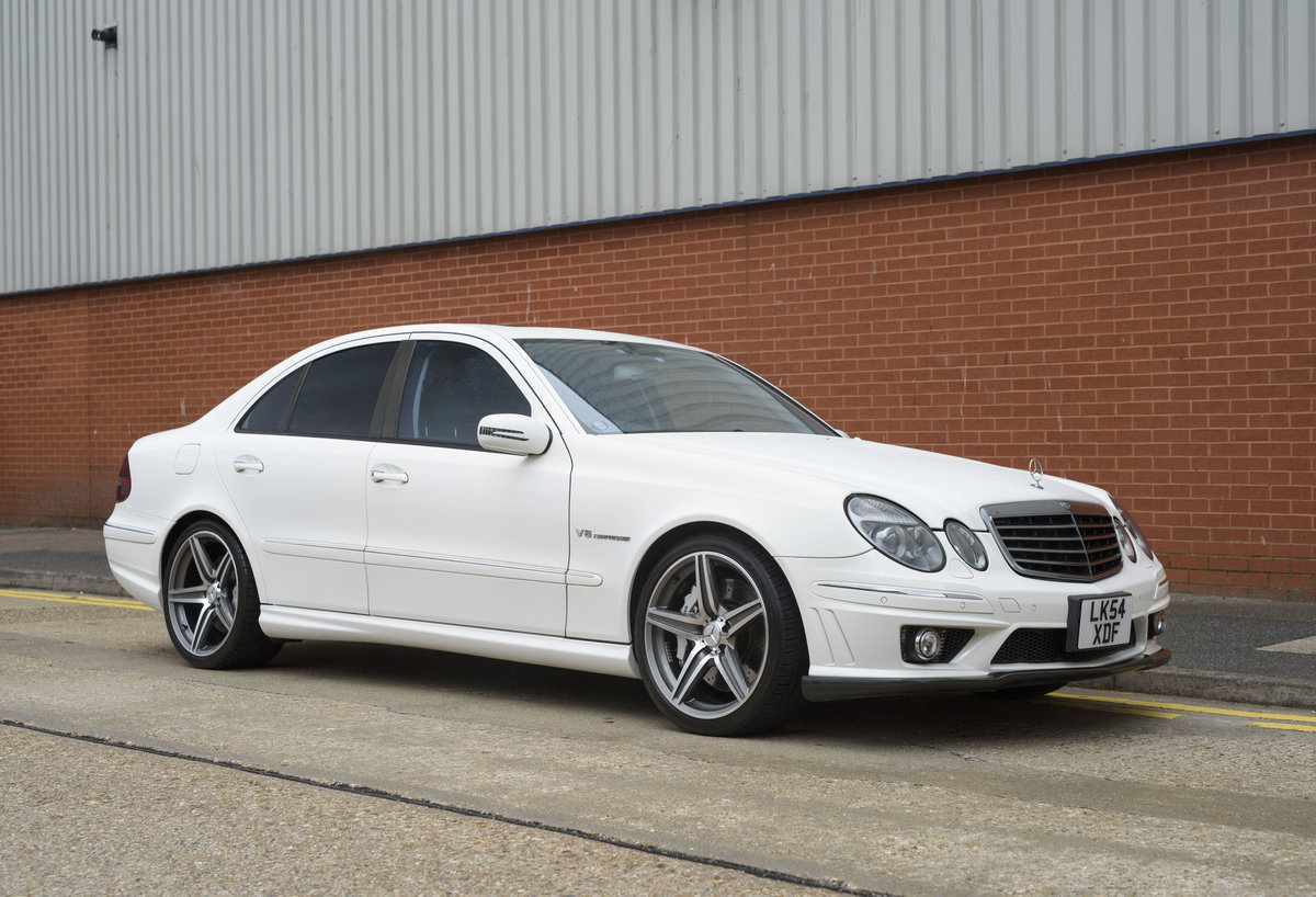 2002 Mercedes Benz E55 AMG For Sale in London (RHD) For Sale (picture 2 of 23)