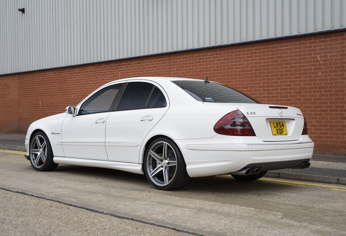 2002 Mercedes Benz E55 AMG For Sale in London (RHD) For Sale (picture 3 of 23)