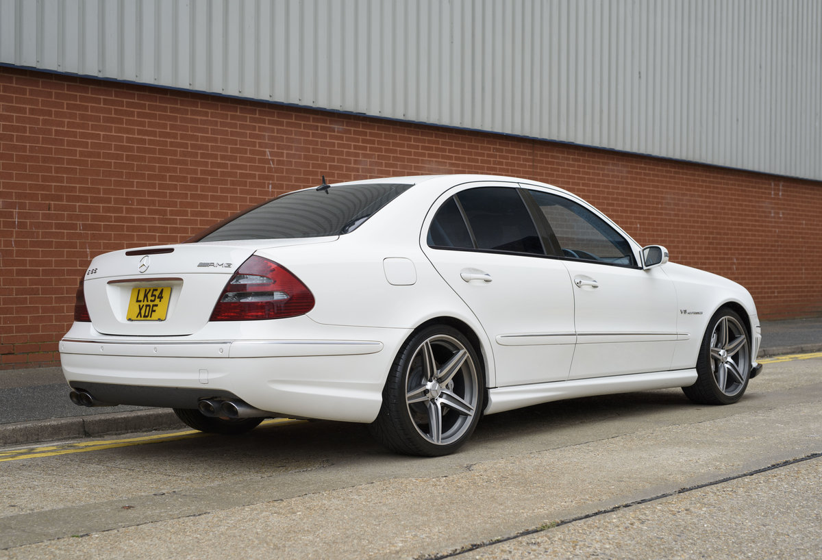 2002 Mercedes Benz E55 AMG For Sale in London (RHD) For Sale (picture 4 of 23)
