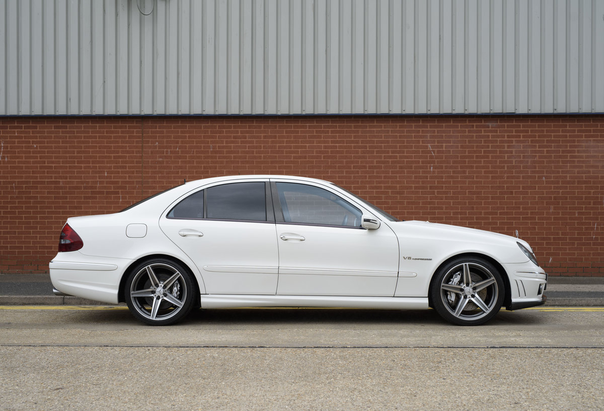 2002 Mercedes Benz E55 AMG For Sale in London (RHD) For Sale (picture 5 of 23)