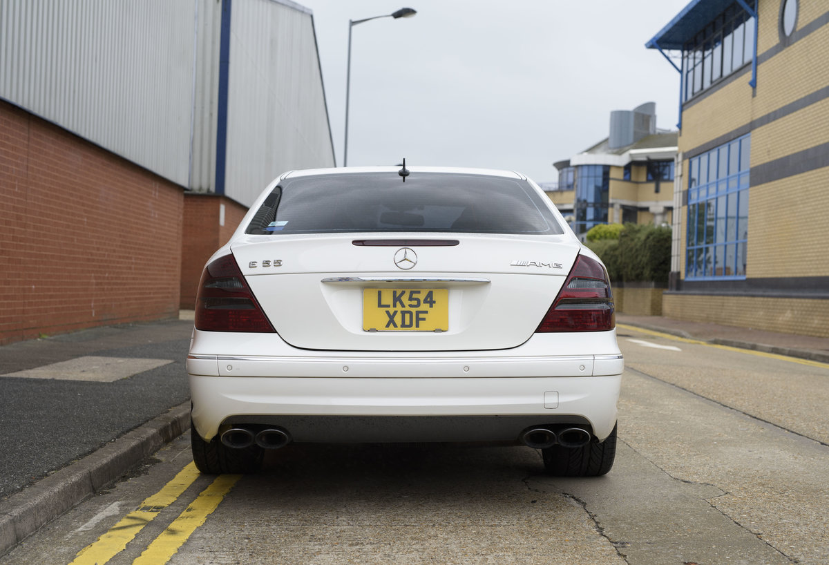 2002 Mercedes Benz E55 AMG For Sale in London (RHD) For Sale (picture 8 of 23)