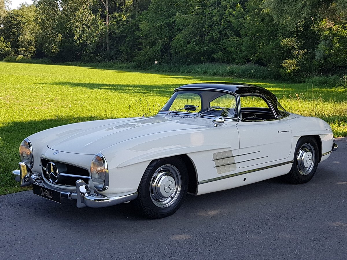 1962 Mercedes 300 SL Roadster, 63.325 km since new!  For Sale (picture 1 of 6)