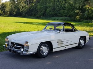 1962 Mercedes 300 SL Roadster, 63.325 km since new!