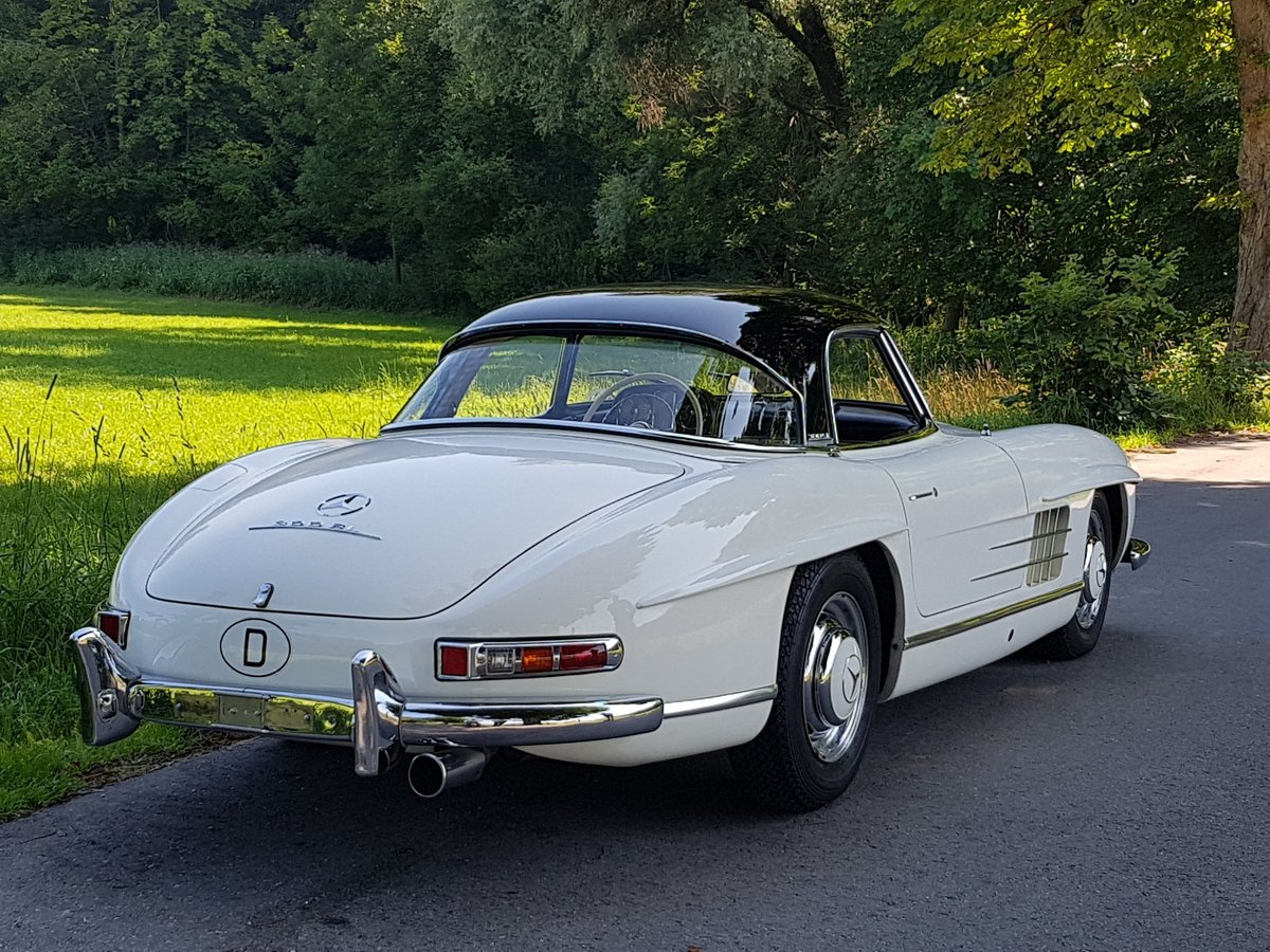 1962 Mercedes 300 SL Roadster, 63.325 km since new!  For Sale (picture 2 of 6)