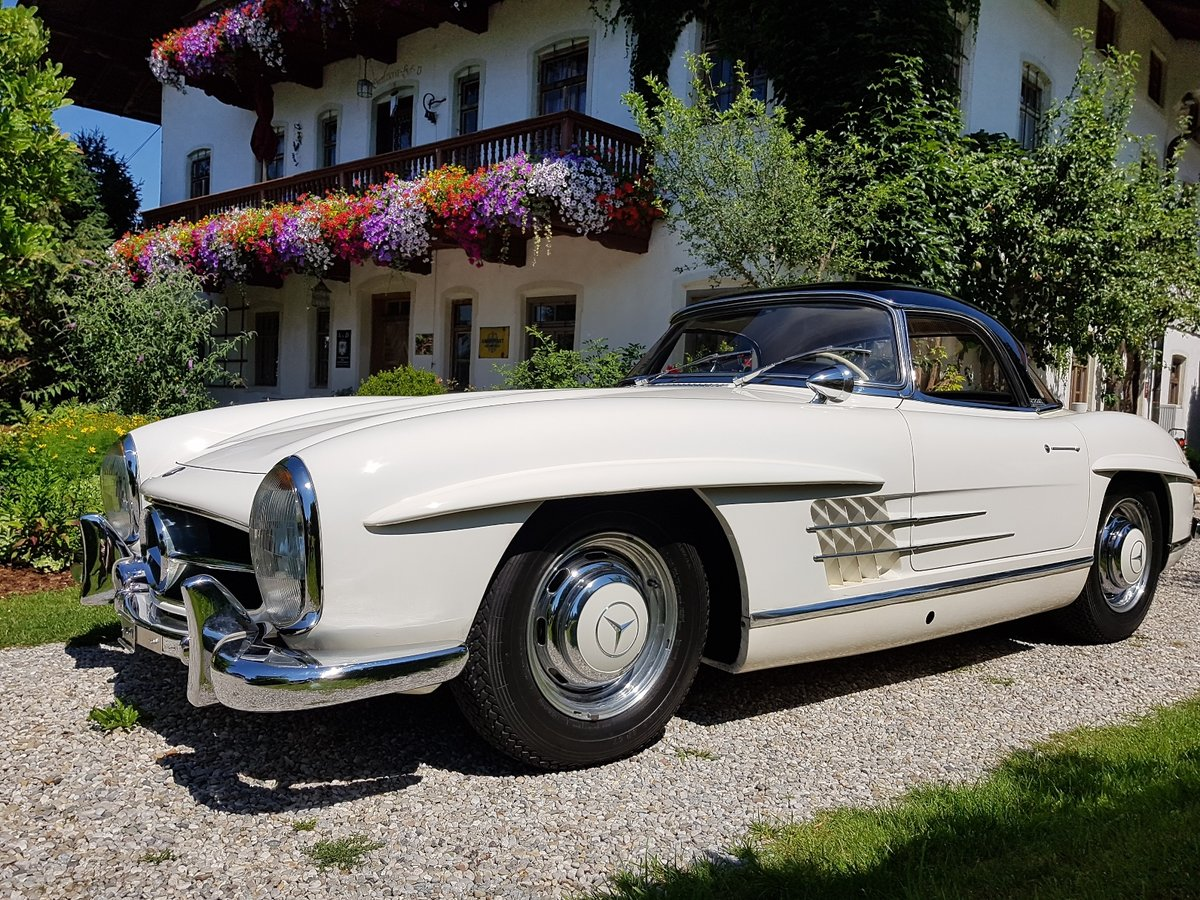 1962 Mercedes 300 SL Roadster, 63.325 km since new!  For Sale (picture 5 of 6)