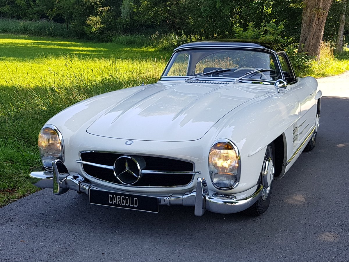 1962 Mercedes 300 SL Roadster, 63.325 km since new!  For Sale (picture 6 of 6)