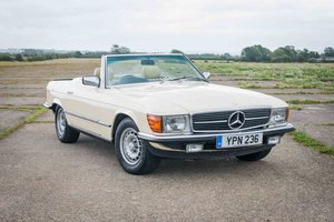 1982 Mercedes-Benz R107 500SL - Original example - FSH - New MOT