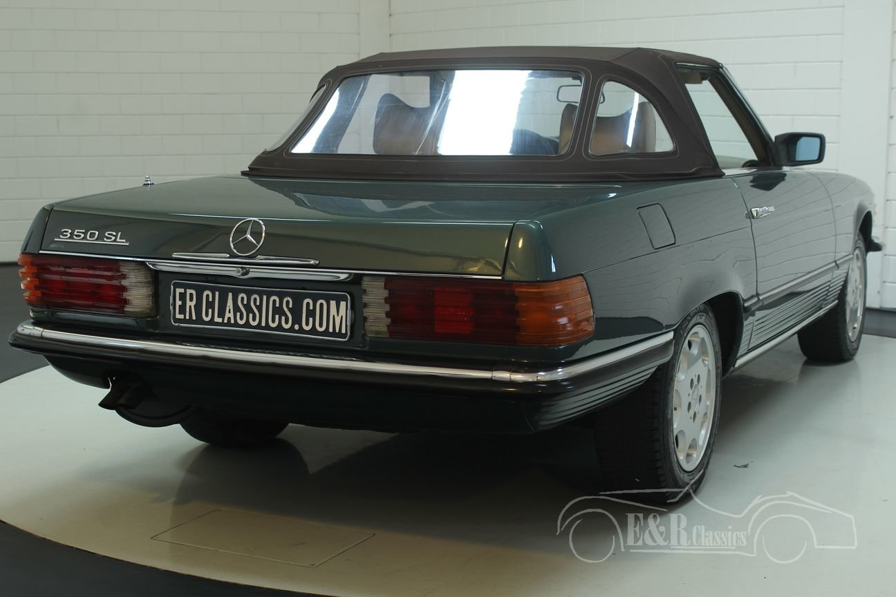 Mercedes Benz 350SL 1979 R107 Green Metallic For Sale (picture 6 of 6)