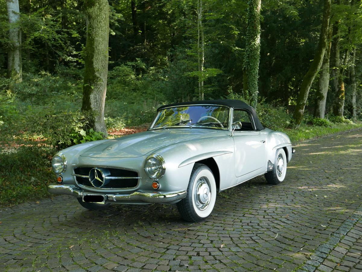 1956 mercedes 190 sl Splendid  For Sale (picture 2 of 6)