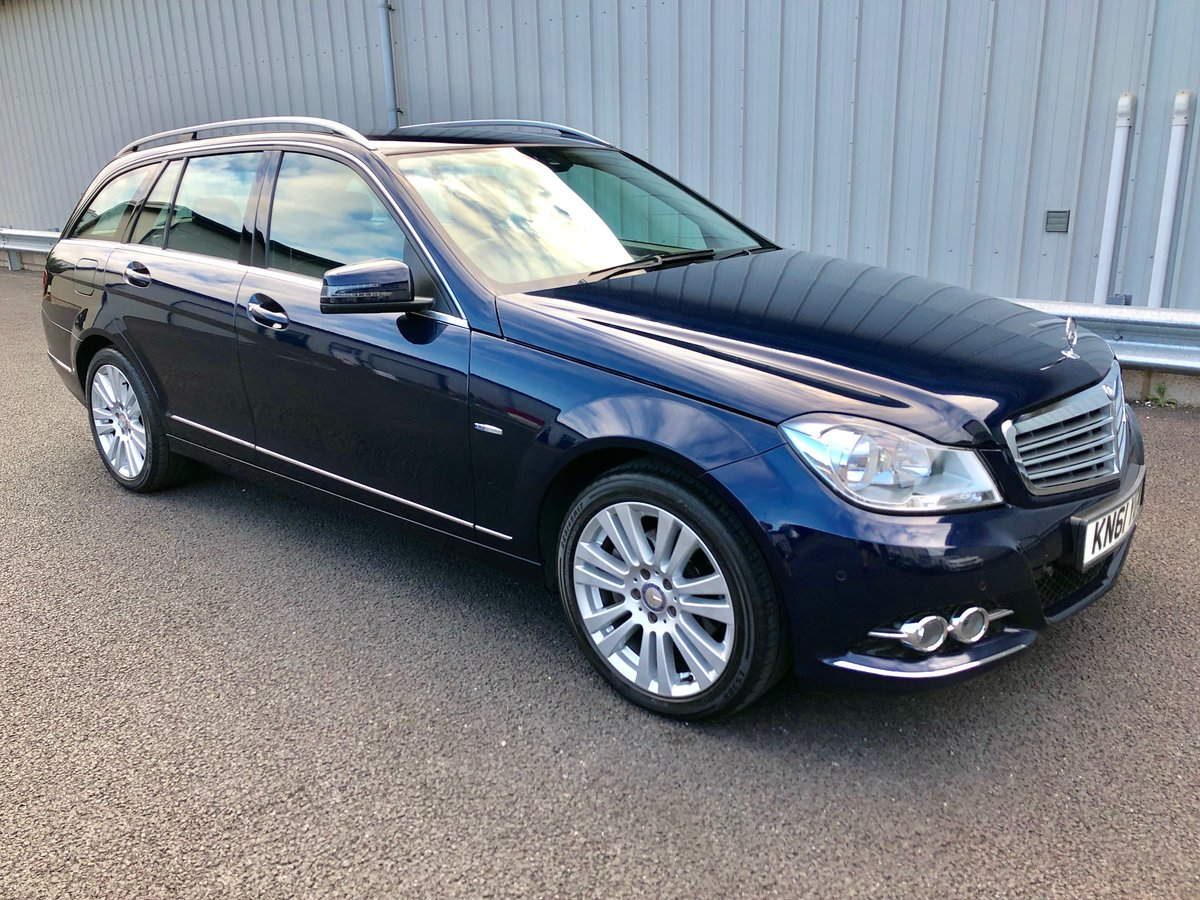 2011 61 MERCEDES-BENZ C CLASS 2.1 C220 CDI ELEGANCE EDITION  SOLD (picture 1 of 6)