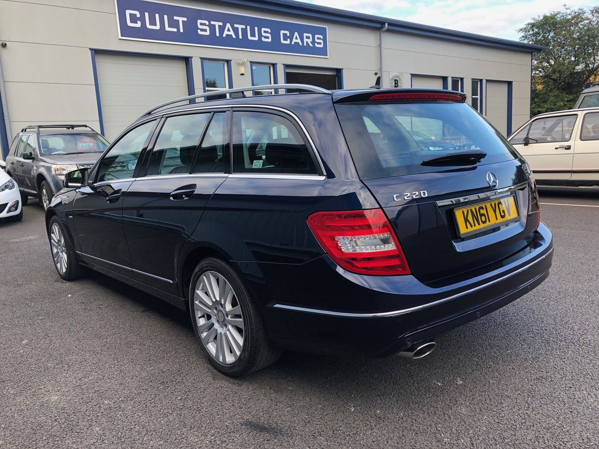 2011 61 MERCEDES-BENZ C CLASS 2.1 C220 CDI ELEGANCE EDITION  SOLD (picture 4 of 6)