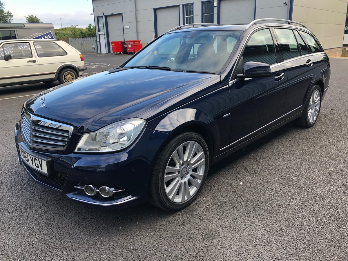 2011 61 MERCEDES-BENZ C CLASS 2.1 C220 CDI ELEGANCE EDITION  SOLD (picture 5 of 6)