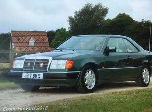1992 Mercedes 230ce auto For Sale