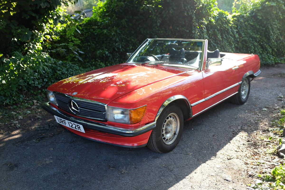 1976 Mercedes 350 sl  For Sale (picture 1 of 5)
