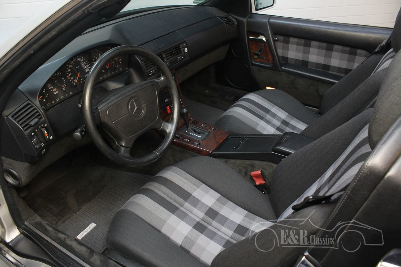 Mercedes 500 SL 1991 automatic transmission 118809 KM For Sale (picture 3 of 6)