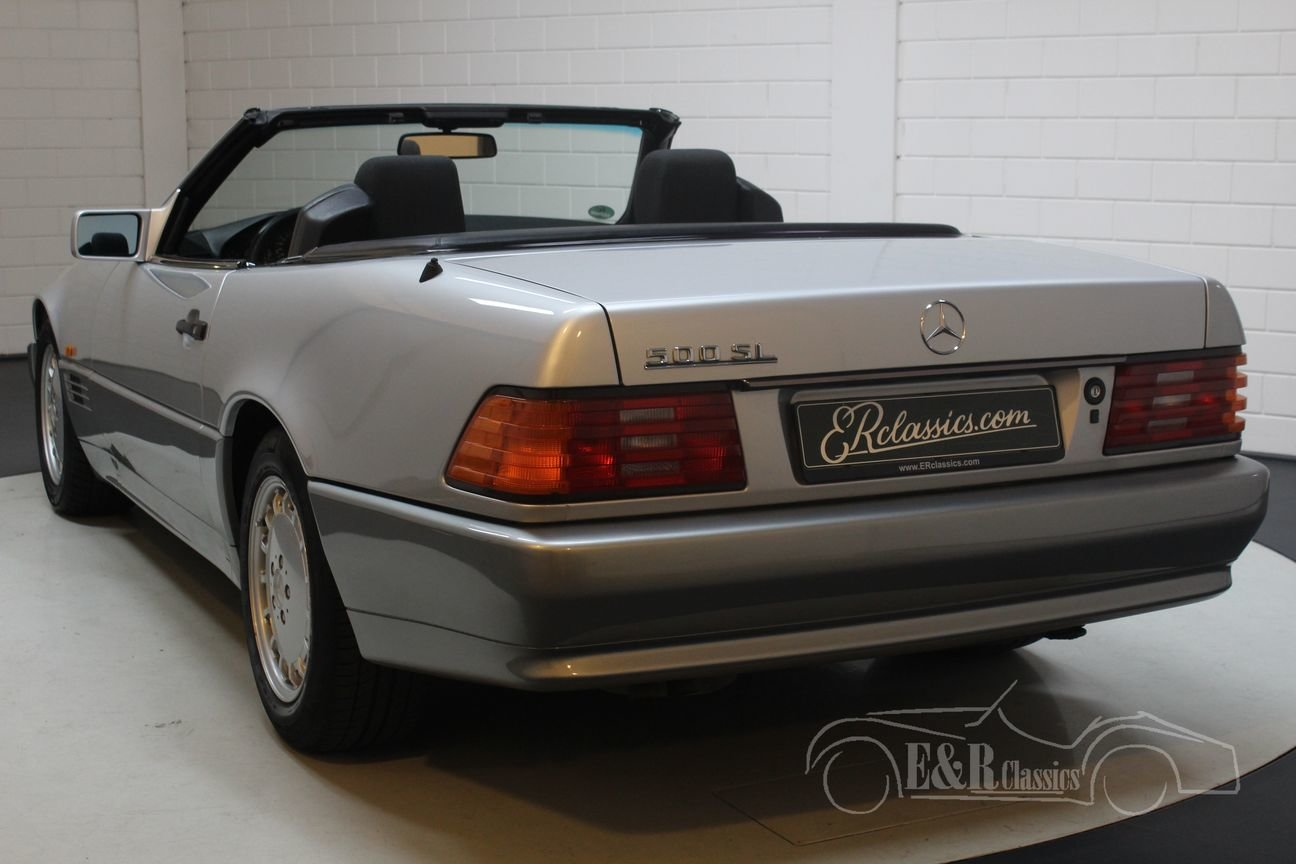 Mercedes 500 SL 1991 automatic transmission 118809 KM For Sale (picture 5 of 6)