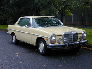 1973 MERCEDES BENZ W114 280c Coupe Automatic - LHD - Ex USA