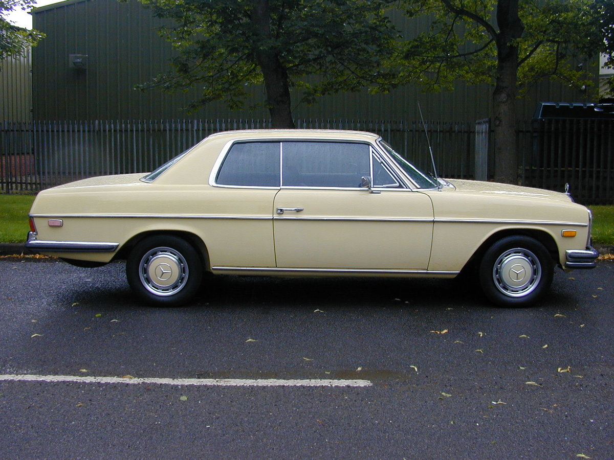1973 MERCEDES BENZ W114 280c Coupe Automatic - LHD - Ex USA  For Sale (picture 2 of 6)