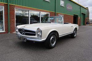 1970 Mercedes W113 280SL Pagoda RHD Manual For Sale
