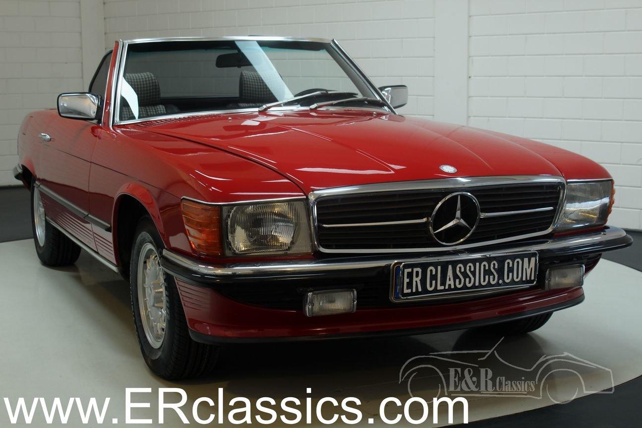 Mercedes Benz 380SL Cabriolet 1985 European car For Sale (picture 1 of 6)