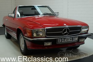 Mercedes Benz 380SL Cabriolet 1985 European car For Sale