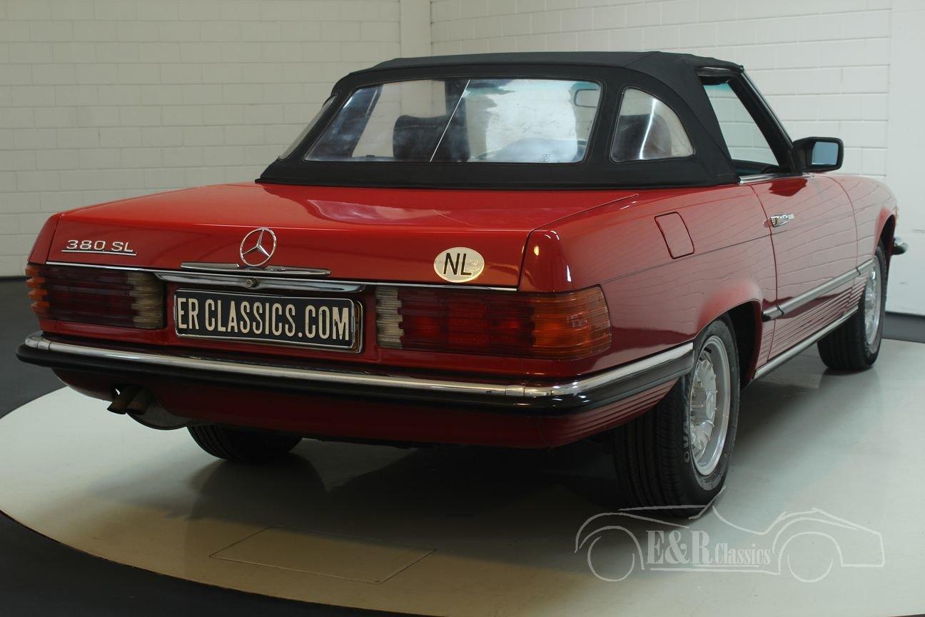 Mercedes Benz 380SL Cabriolet 1985 European car For Sale (picture 6 of 6)