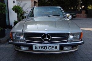 1989 MERCDES 420SL 70000 MILES £32950