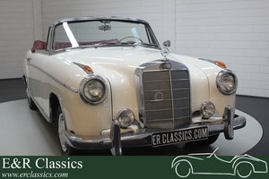 Mercedes-Benz 220SE Ponton Cabriolet 1960 For Sale