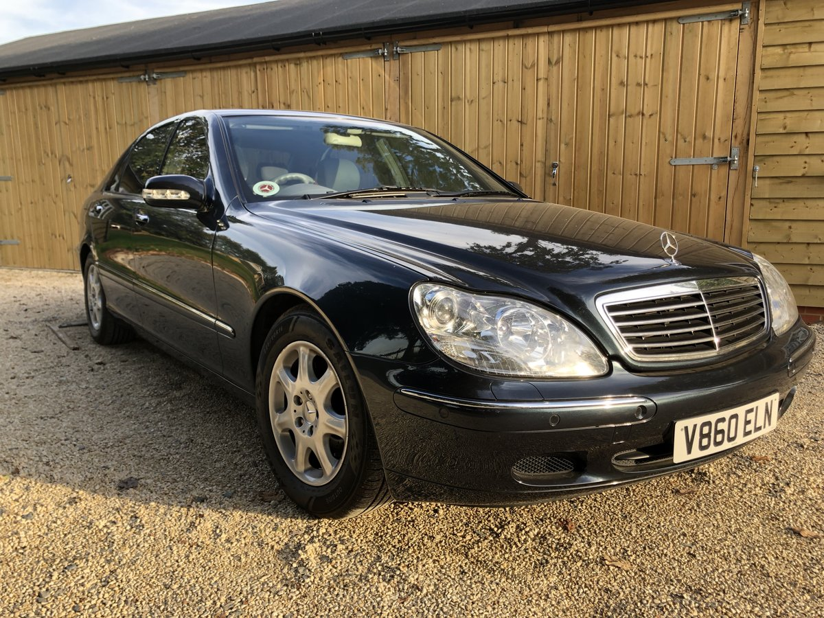 1999 Mercedes S320L Auto Saloon For Sale (picture 1 of 6)