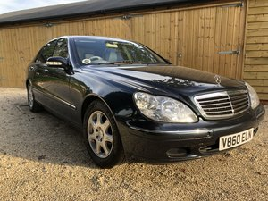 1999 Mercedes S320L Auto Saloon For Sale