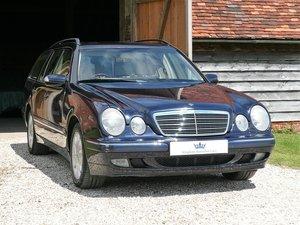 2001 Mercedes W210 E240 Automatic 5dr Elegance