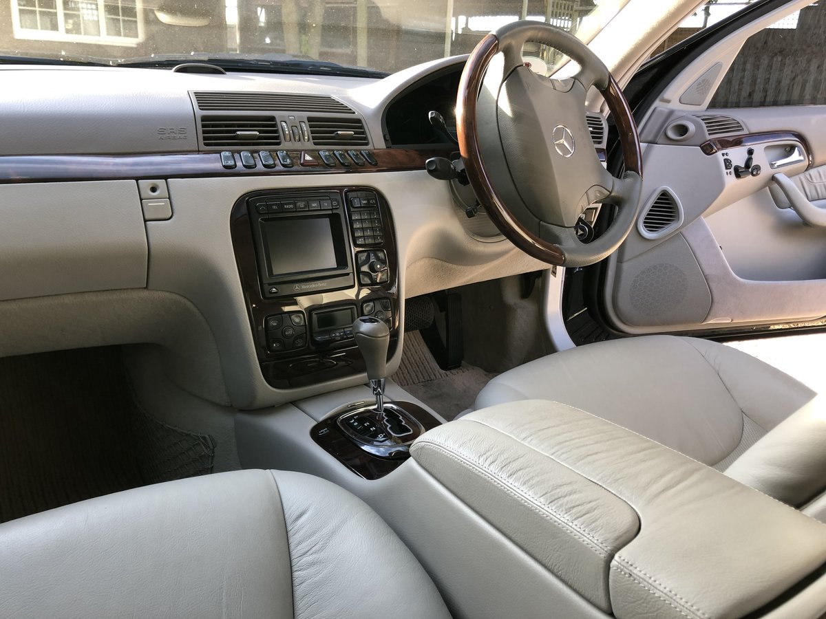 1999 Mercedes S320L Auto Saloon For Sale (picture 4 of 6)