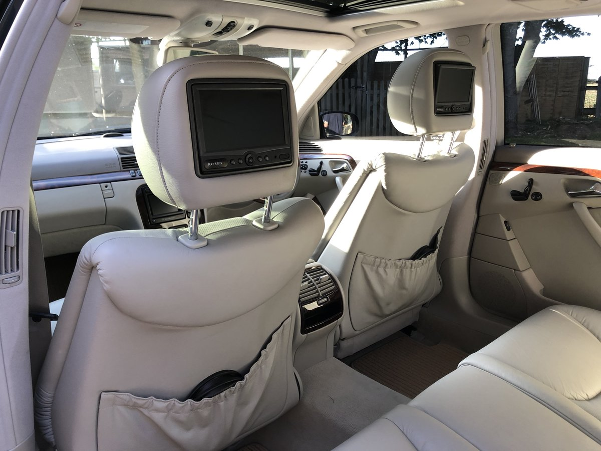 1999 Mercedes S320L Auto Saloon For Sale (picture 5 of 6)