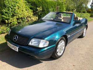 1997 MB 280SL 2 owners S/History superb carnew mot / service For Sale
