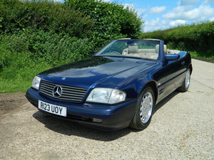 1997 Mercedes 280SL (r129) 1 owner full mb history immaculat