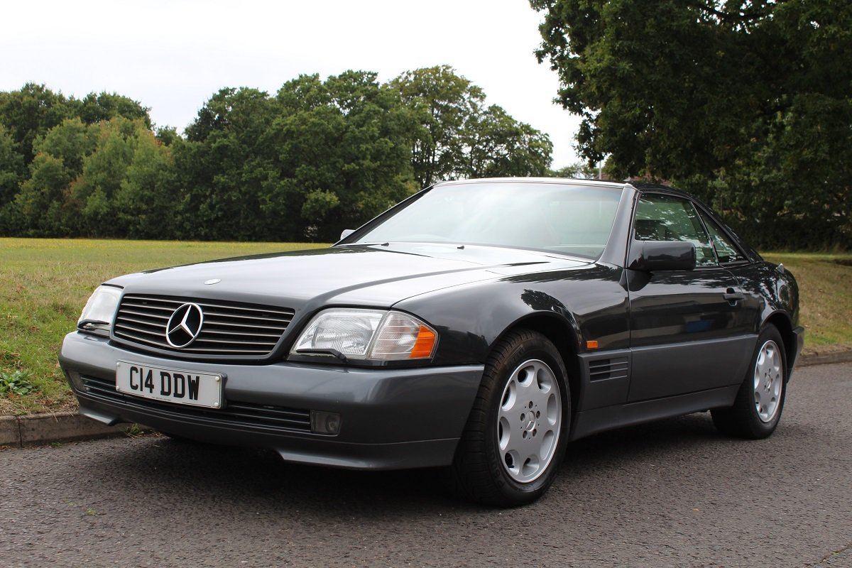 Mercedes SL280 Auto 1995 - To be auctioned 25-10-19 For Sale by Auction (picture 1 of 6)