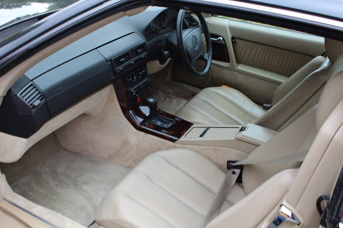 Mercedes SL280 Auto 1995 - To be auctioned 25-10-19 For Sale by Auction (picture 3 of 6)