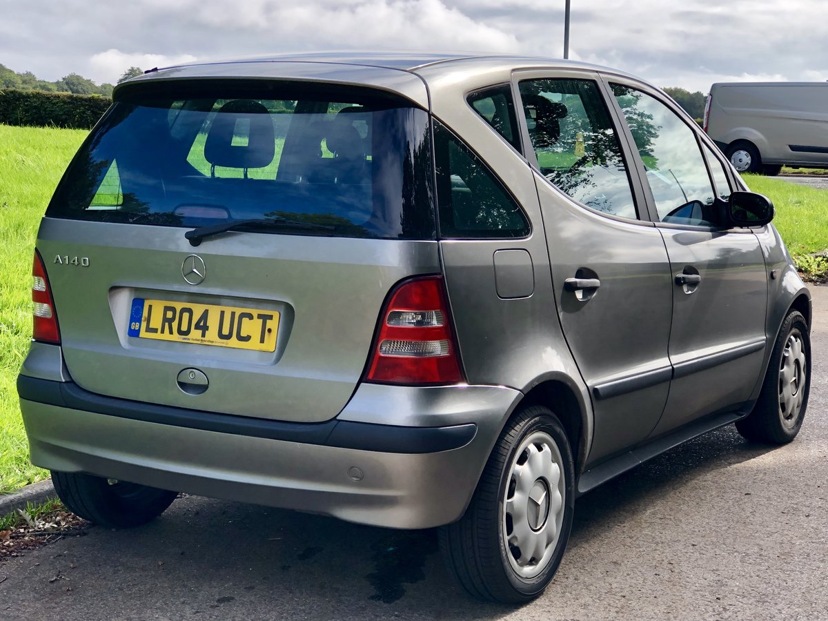 2004 Mercedes A140 Classic SE - Low Miles - COLD A/C For Sale (picture 3 of 6)