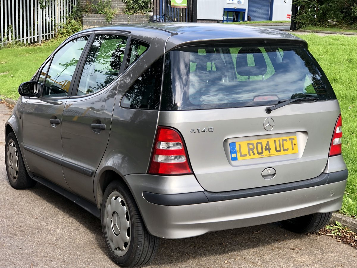 2004 Mercedes A140 Classic SE - Low Miles - COLD A/C For Sale (picture 4 of 6)