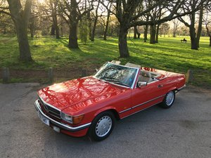 1988 Mercedes 300 SL Classic W107 1989 low miles  For Sale