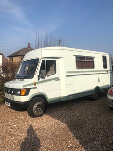 1984 Mercedes Camper One-off Fantastic Condition