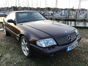 2001 Mercedes-Benz SL320 Designo Limited Edition