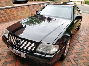 1995 Mercedes 280SL R129 Just one owner and 38000 miles For Sale by Auction
