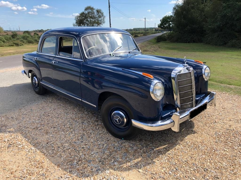 1959 MERCEDES-BENZ W105 - 219 PONTON - 6 Cyl -BEAUTIFUL For Sale (picture 1 of 3)