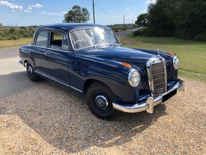 1959 MERCEDES-BENZ W105 - 219 PONTON - 6 Cyl -BEAUTIFUL