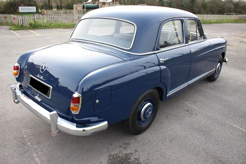 1959 MERCEDES-BENZ W105 - 219 PONTON - 6 Cyl -BEAUTIFUL For Sale (picture 2 of 3)