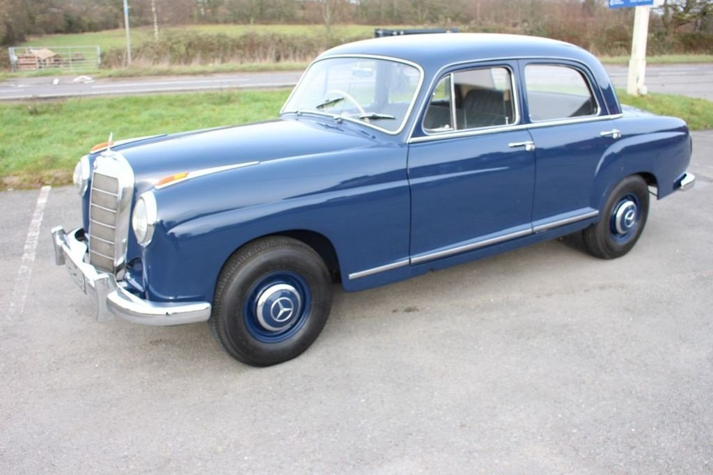 1959 MERCEDES-BENZ W105 - 219 PONTON - 6 Cyl -BEAUTIFUL For Sale (picture 3 of 3)