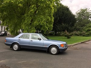 Mercedes 300SE 1988 W126 Classic Low mileage 2 owner car.